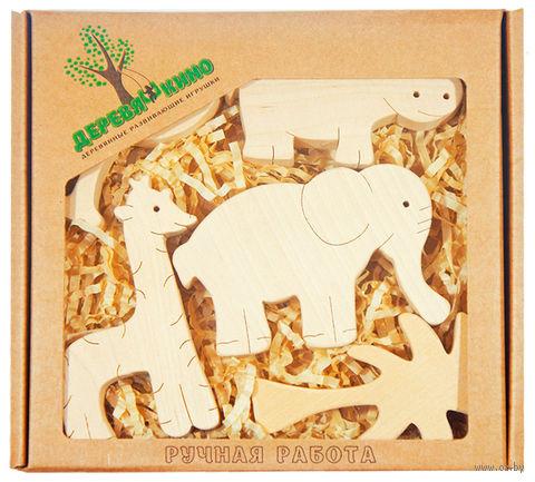 """Набор деревянных заготовок """"Африка"""" (5 шт) — фото, картинка"""