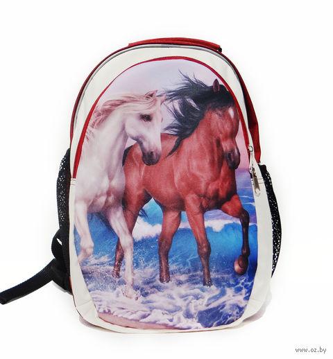 """Рюкзак """"Лошади"""" — фото, картинка"""