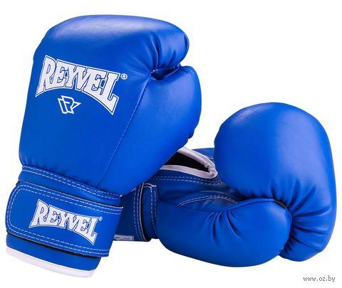 Перчатки боксёрские RV-101 (14 унций; синие) — фото, картинка