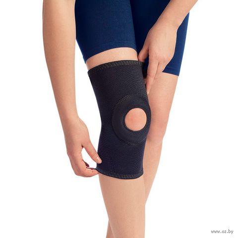 """Бандаж коленный рукавного типа """"0804"""" (чёрный; размер 2) — фото, картинка"""