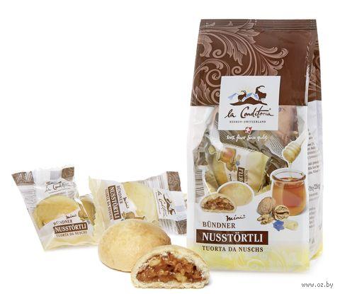 """Мини-печенье """"La Conditoria. Грецкий орех с медом"""" (228 г) — фото, картинка"""