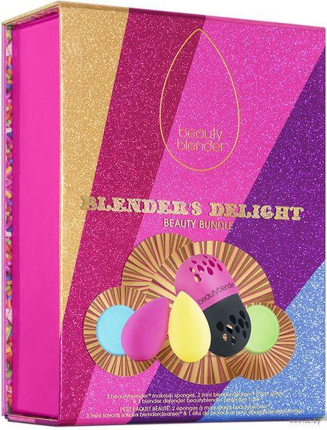 """Подарочный набор """"Blender's Delight"""" (спонжи, мыло для спонжей, футляр для спонжей) — фото, картинка"""