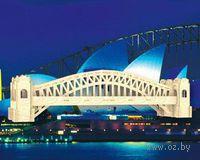 """Сборная деревянная модель """"Сиднейский мост"""""""