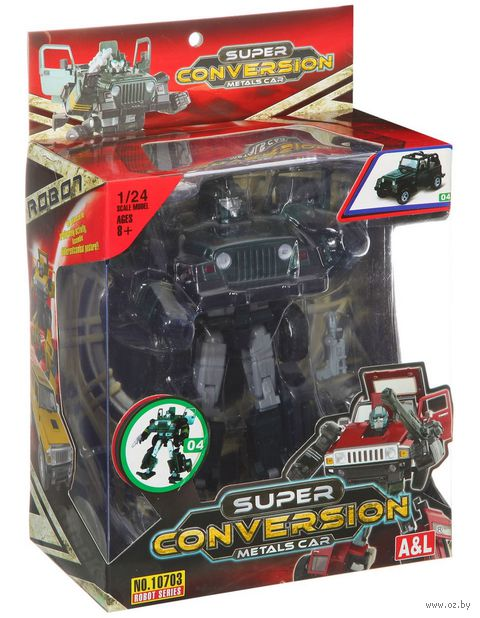 "Робот-трансформер ""Super Conversion"" (масштаб: 1/24)"