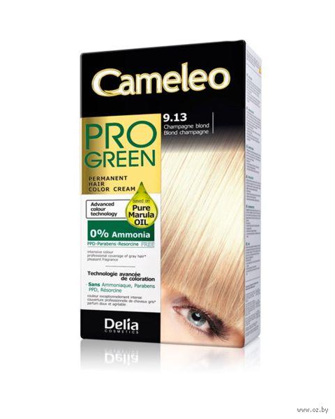 "Краска для волос ""Cameleo Pro Green"" (тон: 9.13, шампанский блондин) — фото, картинка"