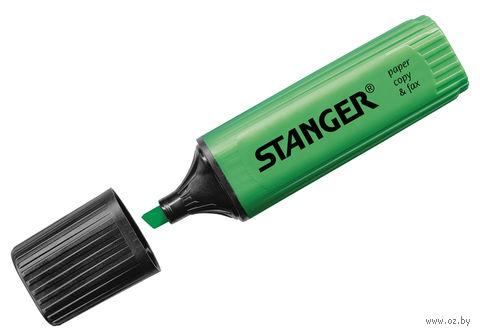 Маркер-текстовыделитель (зеленый; 5 мм)