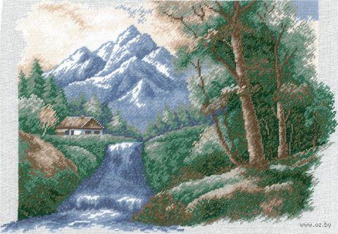 """Вышивка крестом """"Водопад"""" (арт. 639)"""