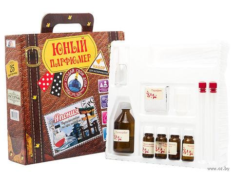 """Набор для изготовления духов """"Юный парфюмер. Путешествие по ароматам. Япония"""" — фото, картинка"""