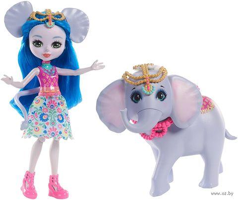"Кукла ""Enchantimals. Кэтрин Элефант и Антик"" — фото, картинка"