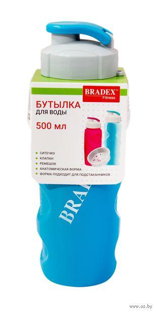 """Бутылка для воды """"Ивиа"""" (500 мл; голубая) — фото, картинка"""