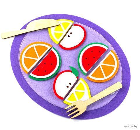 """Развивающая игрушка """"Тарелка с дольками"""" — фото, картинка"""