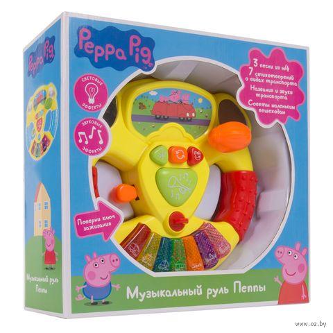 """Развивающая игрушка """"Музыкальный руль Пеппы"""" — фото, картинка"""