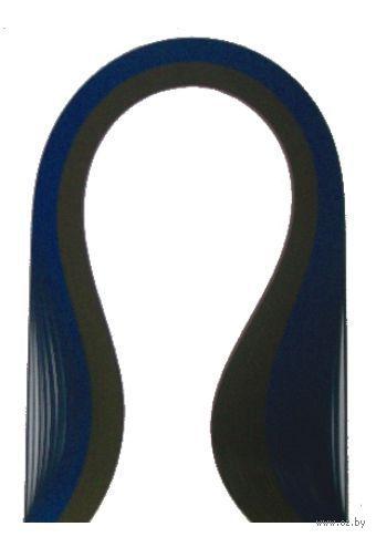 Бумага для квиллинга (300х5 мм; шоколад и темно-синий; 100 шт)