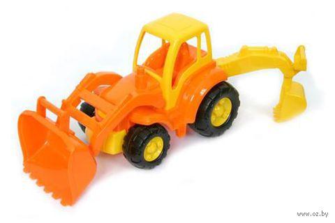 """Трактор с лопатой и ковшом """"Чемпион"""""""