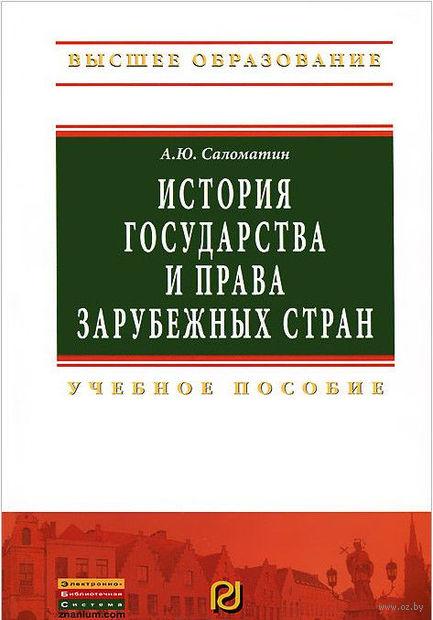 История государства и права зарубежных стран. Алексей Саломатин
