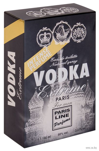 """Туалетная вода для мужчин """"Vodka Extreme"""" (100 мл)"""