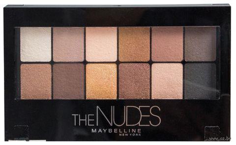 """Палетка теней для век """"The Nudes"""" (12 оттенков) — фото, картинка"""