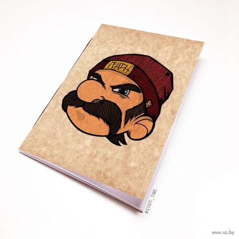 """Блокнот крафт """"Марио"""" А5 (282)"""