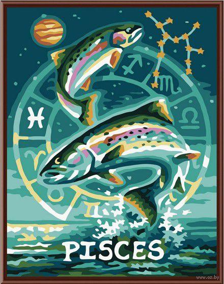 """Картина по номерам """"Рыбы"""" (400х500 мм)"""