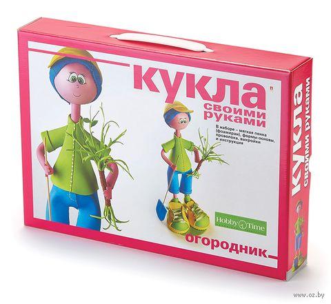 """Сборная модель из фоамирана """"Кукла. Огородник"""" — фото, картинка"""