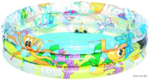 "Бассейн надувной ""Океан"" (102х25 см) — фото, картинка"