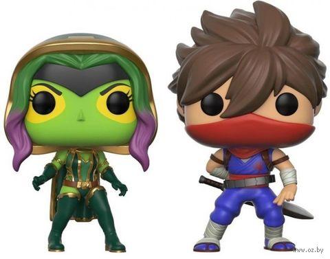 "Фигурка ""Capcom vs Marvel. Gamora vs Strider"" — фото, картинка"