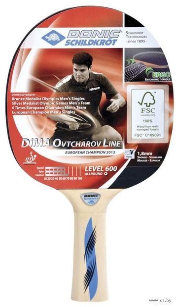 """Ракетка для настольного тенниса """"Schidkroet Ovtcharov 600 FSC"""" — фото, картинка"""