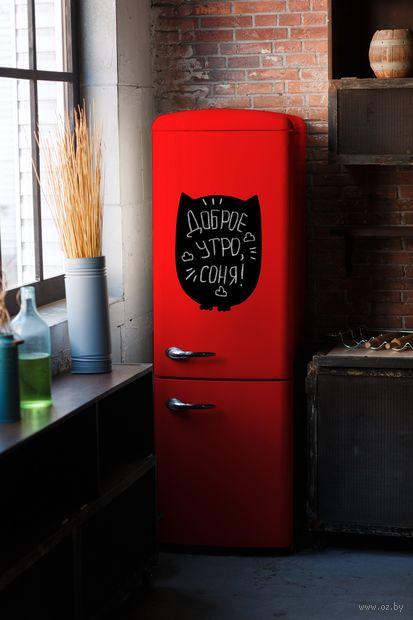 "Магнитно-грифельная доска на холодильник ""Сова"" — фото, картинка"