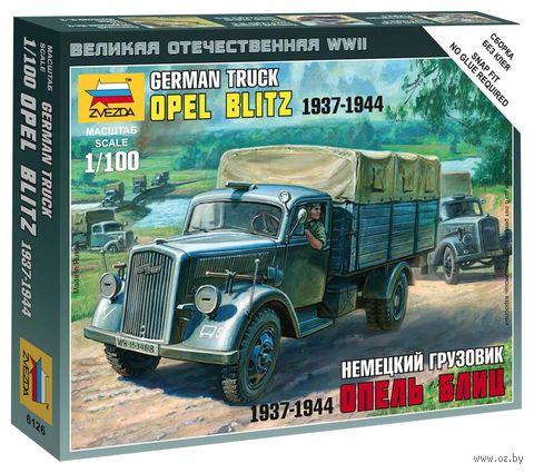 "Немецкий грузовик ""Опель-Блиц"" 1937-1944 гг. (масштаб: 1/100)"
