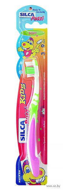 Детская зубная щетка Silca Putzi Kids (цвет: ассорти)