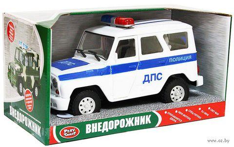 """Модель машины """"Джип. Полиция"""" — фото, картинка"""