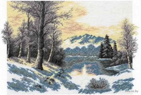 "Вышивка крестом ""Зимний пейзаж"" (арт. 644)"
