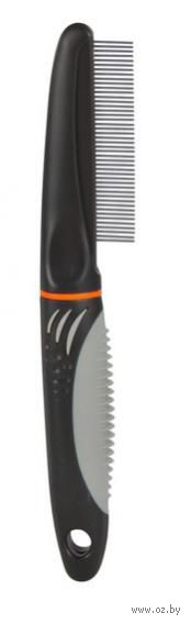 Расческа для ухода за шерстью с вращающимися зубьями (22 см; арт. 23771) — фото, картинка