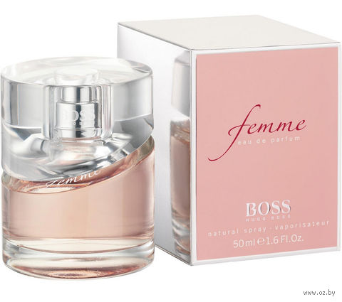 """Парфюмерная вода для женщин Hugo Boss """"Femme"""" (50 мл) — фото, картинка"""