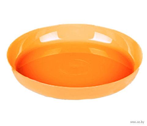 """Подставка для цветочного горшка """"Ага"""" (11 см; оранжевая) — фото, картинка"""
