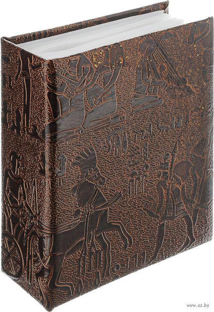 """Фотоальбом """"Egypt Leather"""" (100 фотографий; 10х15 см; светло-коричневый) — фото, картинка"""