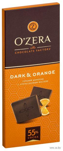 "Шоколад горький ""O'Zera. Dark and Orange"" (90 г) — фото, картинка"