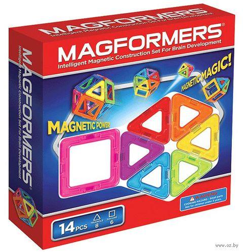 """Конструктор магнитный """"Magformers 14"""" (14 деталей)"""