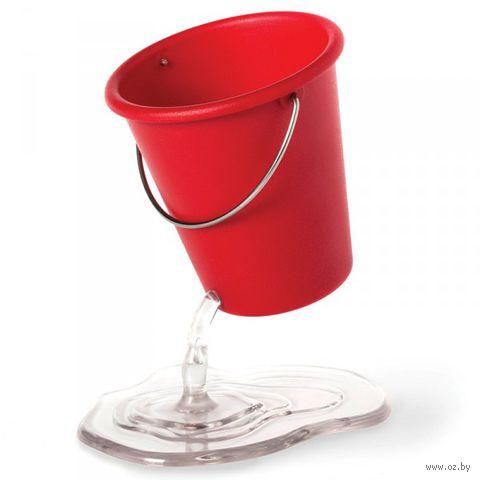 """Органайзер для рабочего стола """"Desk Bucket"""" (красный)"""