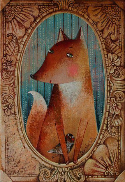 "Магнит сувенирный ""Фолк"" (арт. 1144) — фото, картинка"