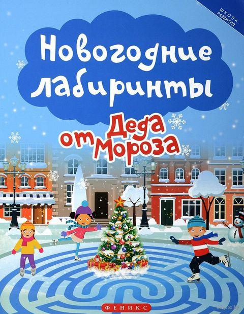 Новогодние лабиринты от Деда Мороза — фото, картинка
