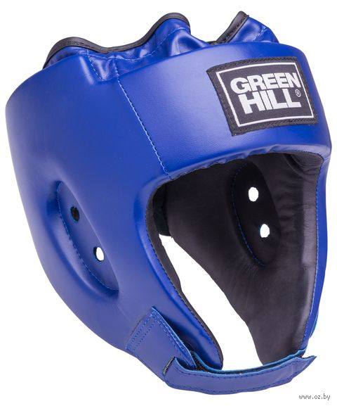 "Шлем открытый ""Alfa"" (M; синий; арт. HGA-4014) — фото, картинка"