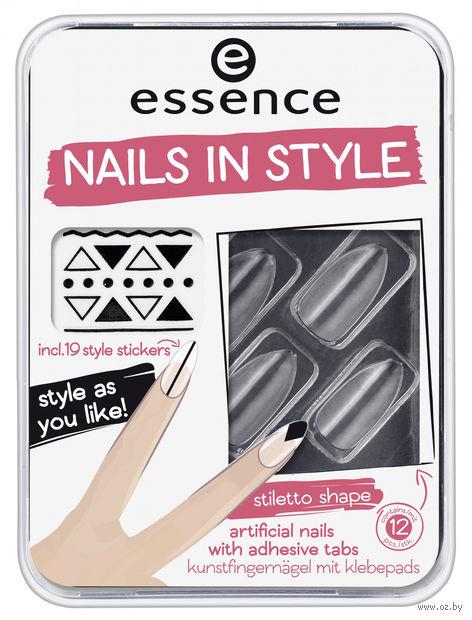 "Накладные ногти ""Nails in Style"" (12 шт.) — фото, картинка"
