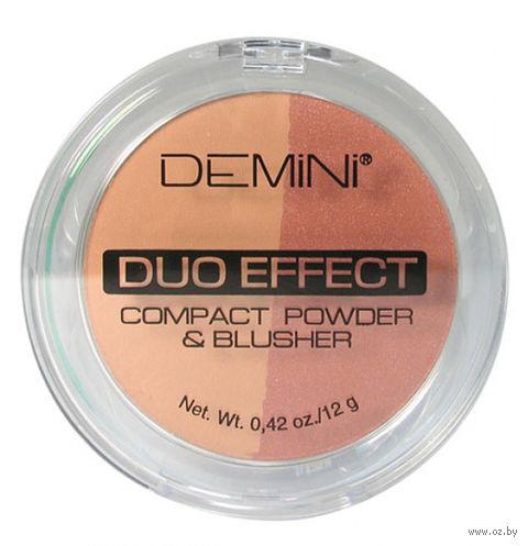 """Пудра-румяна """"Compact Powder Duo Effect"""" тон: 25 — фото, картинка"""