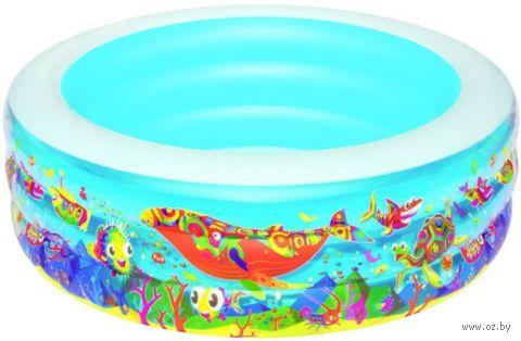 """Бассейн надувной """"Подводный мир"""" (152х51 см) — фото, картинка"""