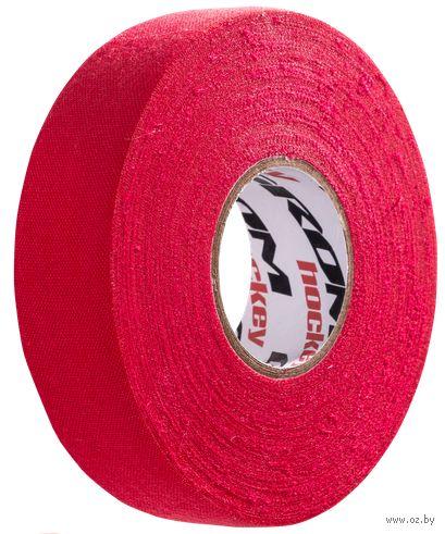 Лента хоккейная для крюка (24 мм; 25 м; красная) — фото, картинка