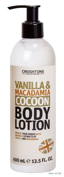 """Лосьон для тела """"Успокаивающие ваниль и макадамия"""" (400 мл) — фото, картинка"""
