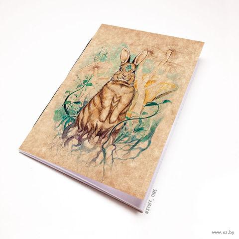 """Блокнот крафт """"Заяц"""" (А5; арт. 296) — фото, картинка"""