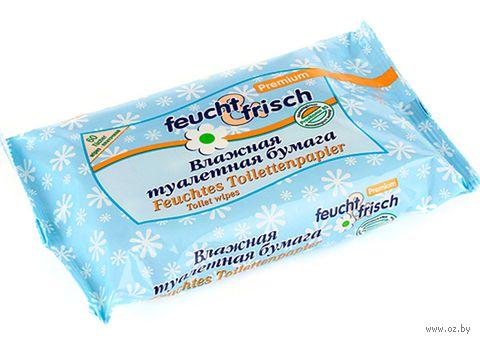 """Влажная детская туалетная бумага """"Feucht & Frisch"""" (60 шт)"""