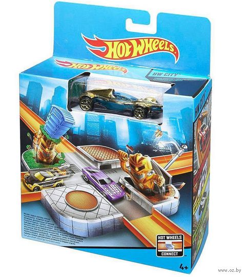 "Игровой набор ""Hot Wheels. Остерегайся киборгов"""